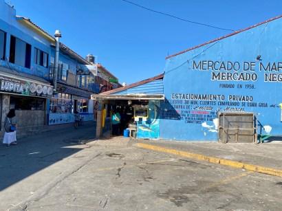 Entering Mercado Negro