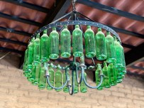 Not a bad use for old bottles