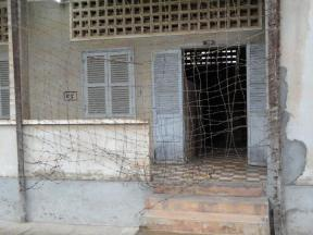 An entrance to a former classroom