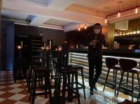 Inside the bar