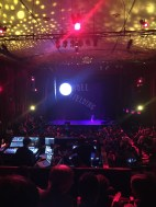 ...So this is what we could see from our seats at the beginning