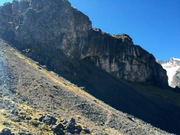 A cave where llamas used to be sacrificed