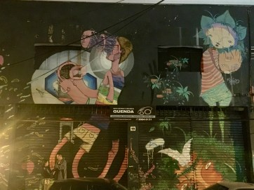 I loved this mural