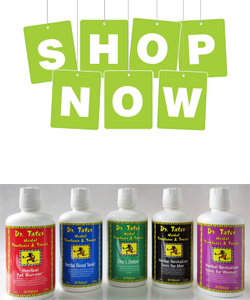 Shop Dr. Tates Herbal Tinctures & Tonics