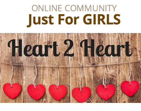Heart 2 Heart Online Community for Girls