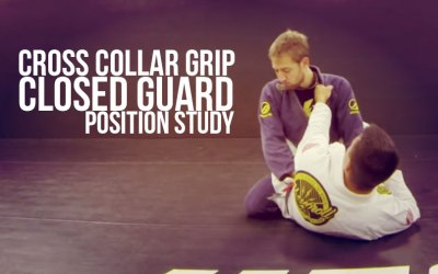 CROSS COLLAR GRIP | CLOSED GUARD