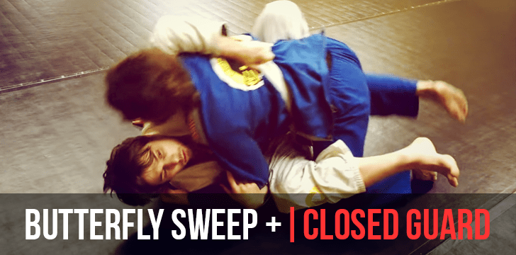 BUTTERFLY SWEEP   CLOSED GUARD