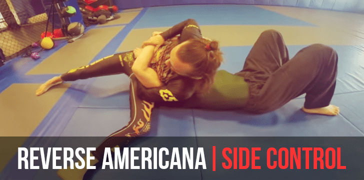 Your Ninja Tip: North / South Americana Shoulder Lock / Trap