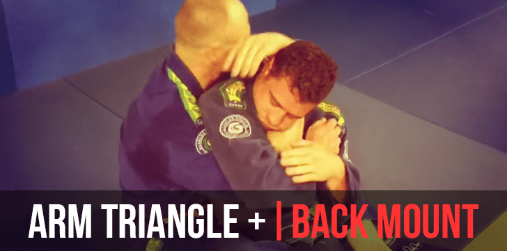 REAR NAKED CHOKE | BACK MOUNT