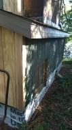 Firewood box exterior