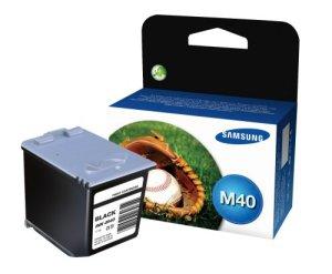 Samsung INK-M40/ELS Tintenpatrone, 750 Seiten, schwarz