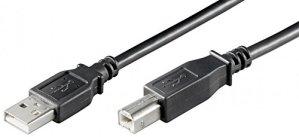 USB 2.0 Hi-Speed KABEL USB 2.0-Stecker (Typ A) USB 2.0-Stecker (Typ B) 5m (wt93598)