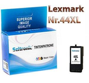 Seitronic Premium Drucker Patronen für Lexmark Nr 44 XL Black Schwarz (1x)