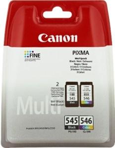 Canon PG-545/CL-546 Tintenpatronen (Multipack 8ml/9ml) schwarz/mehrfarbig
