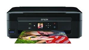 Epson Expression Home XP-332 Tintenstrahl Multifunktionsdrucker (Drucken, Scannen, Kopieren, 5.760 x 1.440 dpi, Wi-Fi, USB) schwarz
