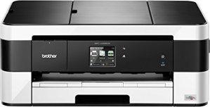 Brother MFC-J4420DW 4-in1 Farbtintenstrahl-Multifunktionsgerät (Drucken, scannen, kopieren, faxen, 6.000x1.200 dpi, USB 2.0 Hi-Speed, WLAN) schwarz/weiß