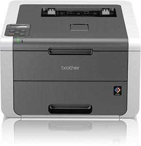 Brother HL-3142CW High-Speed Farblaserdrucker mit LAN/WLAN weiß/grau