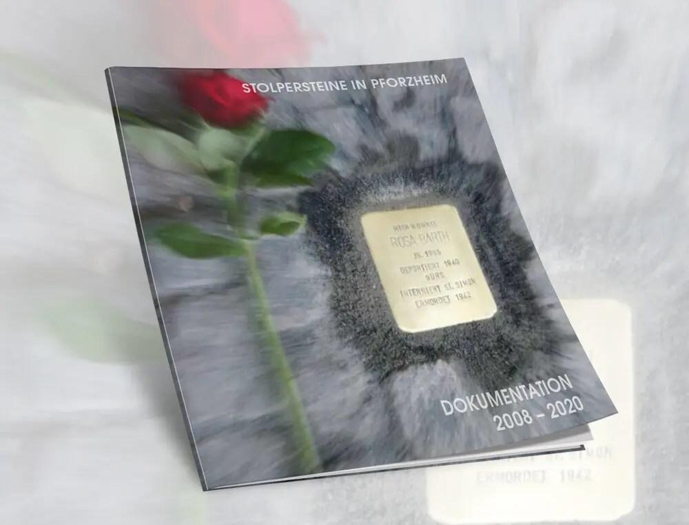 Portfolio Stolpersteine Broschuere