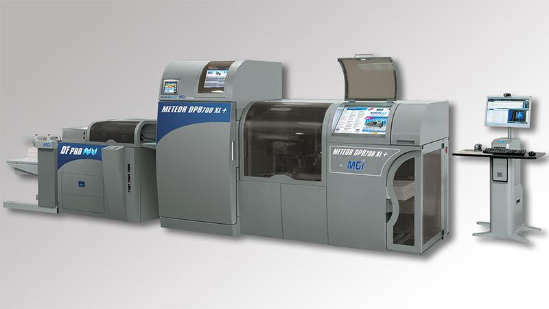 Unsere Meteor DP8700 XL Digitaldruckmaschine