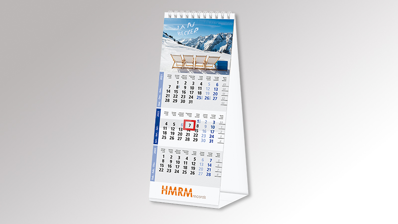 Bildkalender MagicPix Tischkalender von Druck+Medien Heiligenhaus