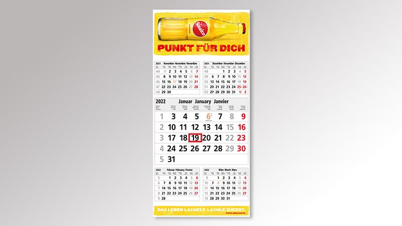 Commerce5 Monatskalender von Druck+Medien Heiligenhaus