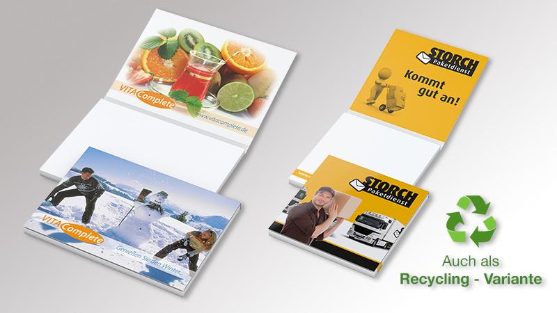 Cover Karton Haftnotizen von Druck+Medien Heiligenhaus V1