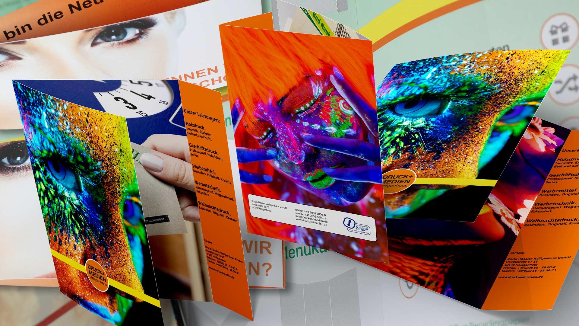 Flyer und Klappkarten Von Druck+Medien Heiligenhaus