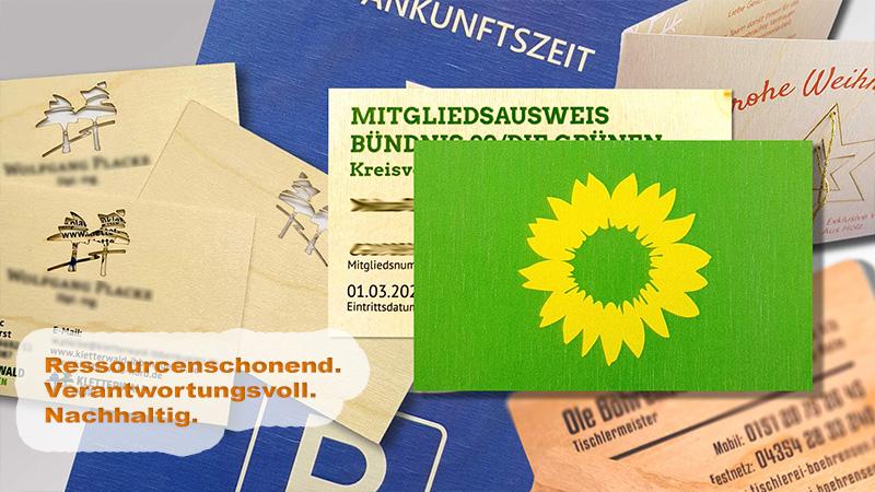 Holzdrucke Von Der Druck+Medien Heiligenhaus GmbH