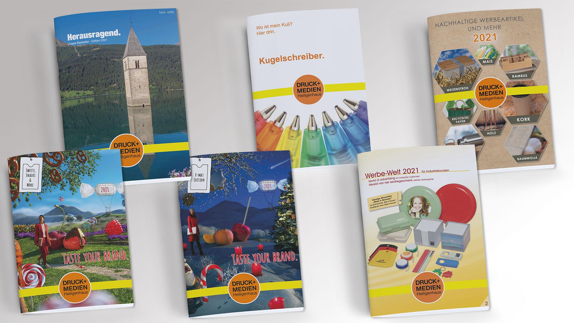 Kataloge von Druck+Medien Heiligenhaus