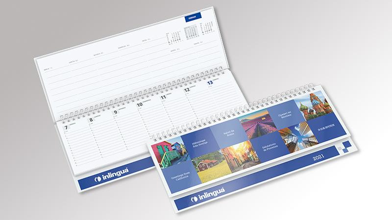 MasterCoverStar Tischquerkalender von Druck+Medien Heiligenhaus