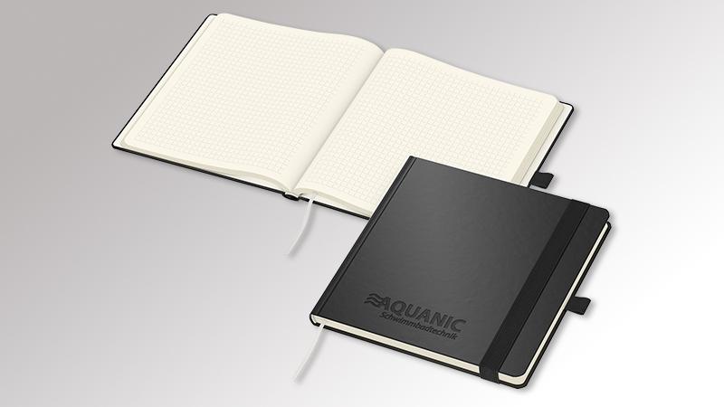 Notizbuch SquareBook von Druck+Medien Heiligenhaus