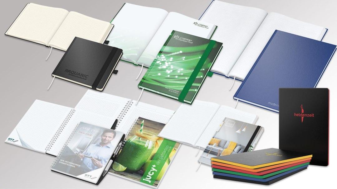 Notizbücher von Druck+Medien Heiligenhaus