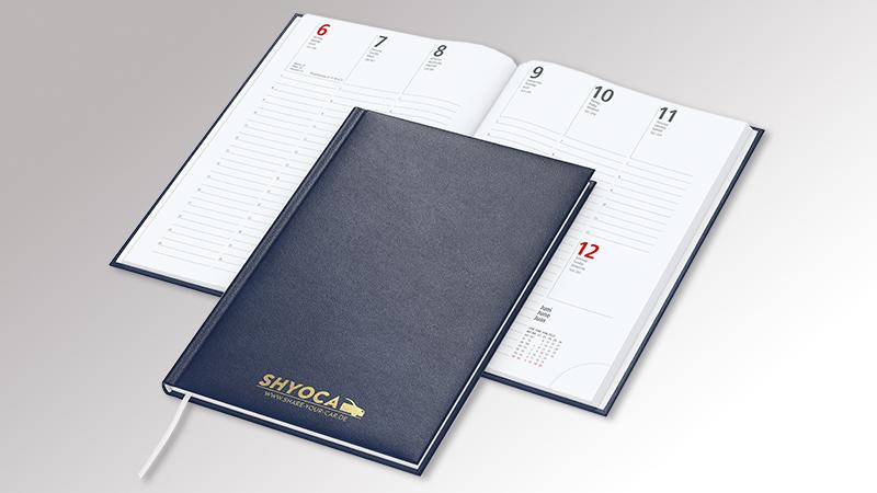 Prestige Buchkalender von Druck+Medien Heiligenhaus