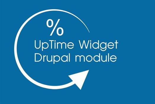 UpTime Widget Drupal module