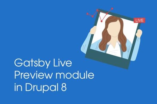 Gatsby Live Preview Drupal module