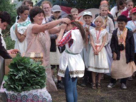 Olimpijskie Igry Voronezh valdorfskaya shkola vruchenie medalej