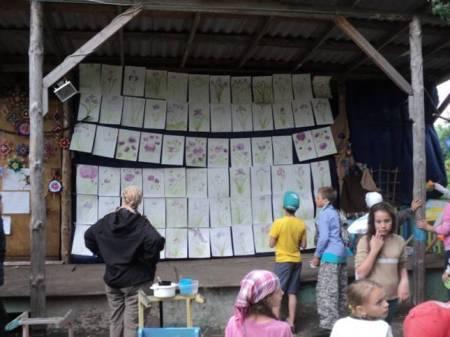 Olimpijskie Igry Voronezh valdorfskaya shkola vystavka risunkov