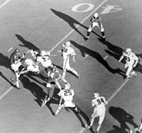 The first blocked punt