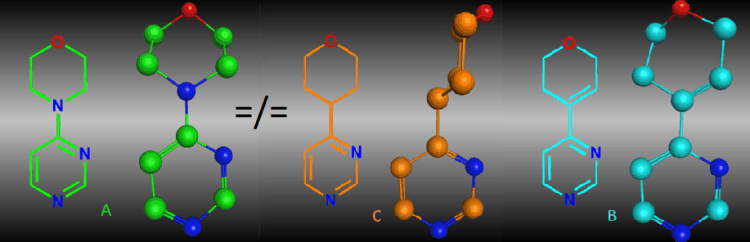 Conformational differences between morpholines and potential morpholine isosteres