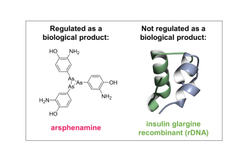 arsphenamine biologic insulin not a biologic