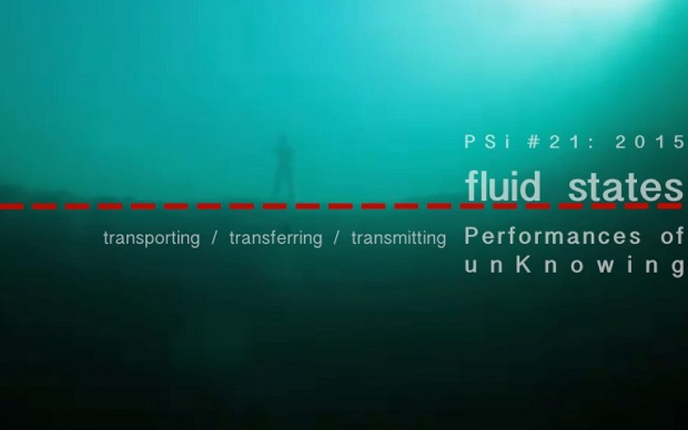 PSi #21 2015: FLUID STATES – About the project