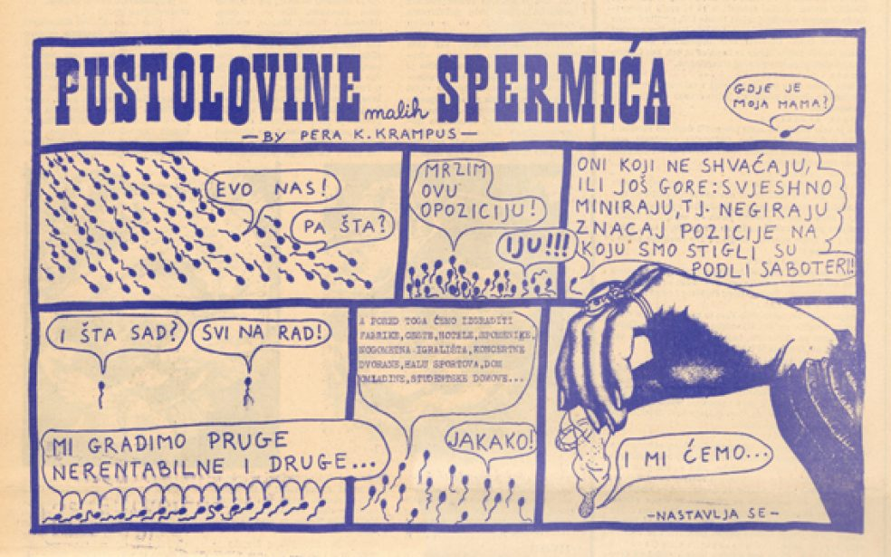 Yugoslavian youth press as underground press: 1968-1972 (Zagreb, Belgrade, Ljubljana)