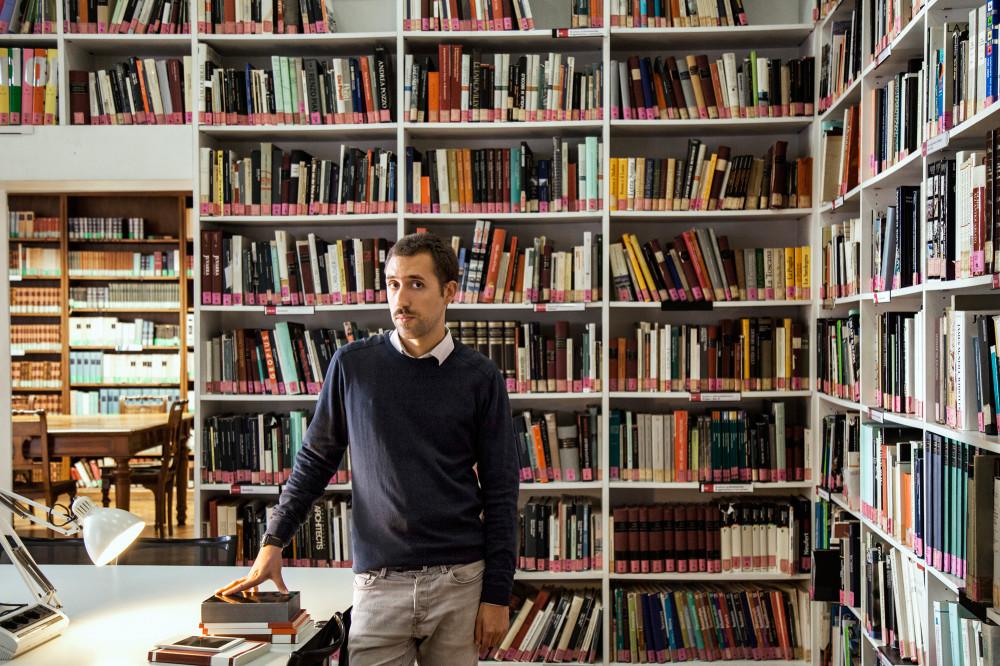 Silvio Lorusso, foto Fulvio Orsenigo