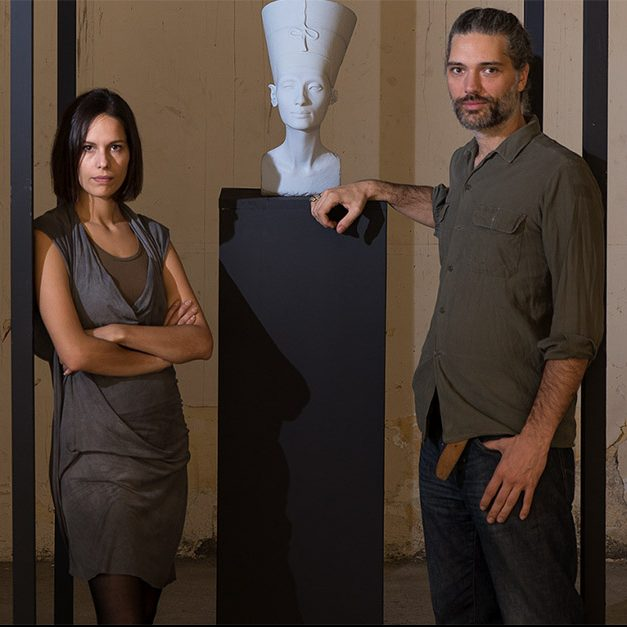 The Other Nefertiti - foto Jan Nikolai Nelles: Nora Al-Badri