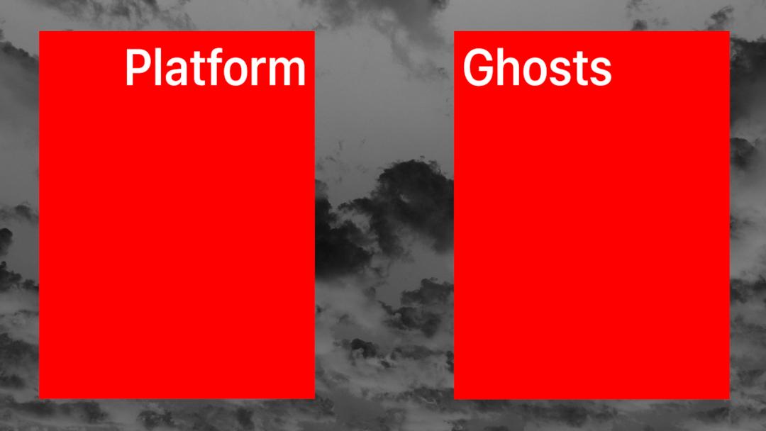 Silvio Lorusso Sebastian Schmieg Platform Ghosts