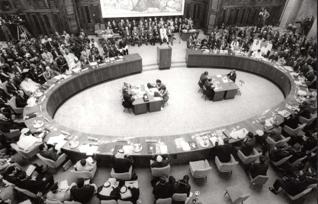 Pokret Nesvrstanih - Konferencija Pokreta nesvrstanih u Beogradu 1961. godine. Izvor: Wikimedia Commons, the free media repository. Licensed under the Creative Commons Attribution-Share Alike 3.0 Serbia license