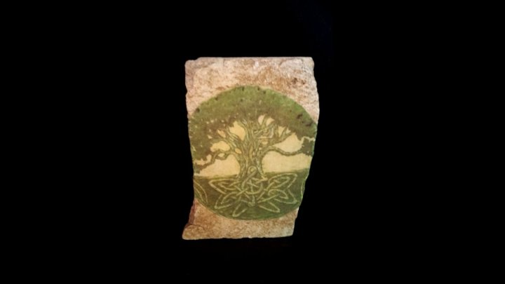 Tree of Life Standing Stone Altar Piece