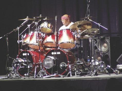 Billy Cobham's powerful double-bass excursions with Mahavishnu Orchestra raised the bar even higher.