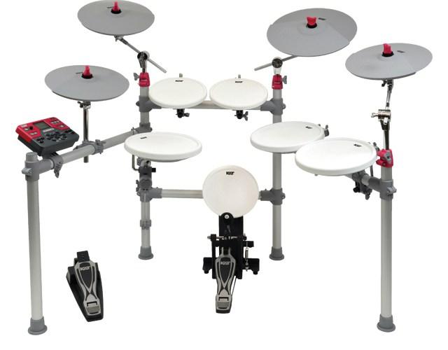 Review Kat Kt3 Digital Drum Set Drum Magazine
