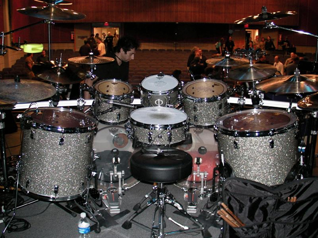 Mike Mangini S Drum Kit Drum Magazine